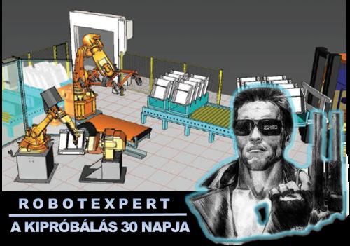 RobotExpert kipróbálás